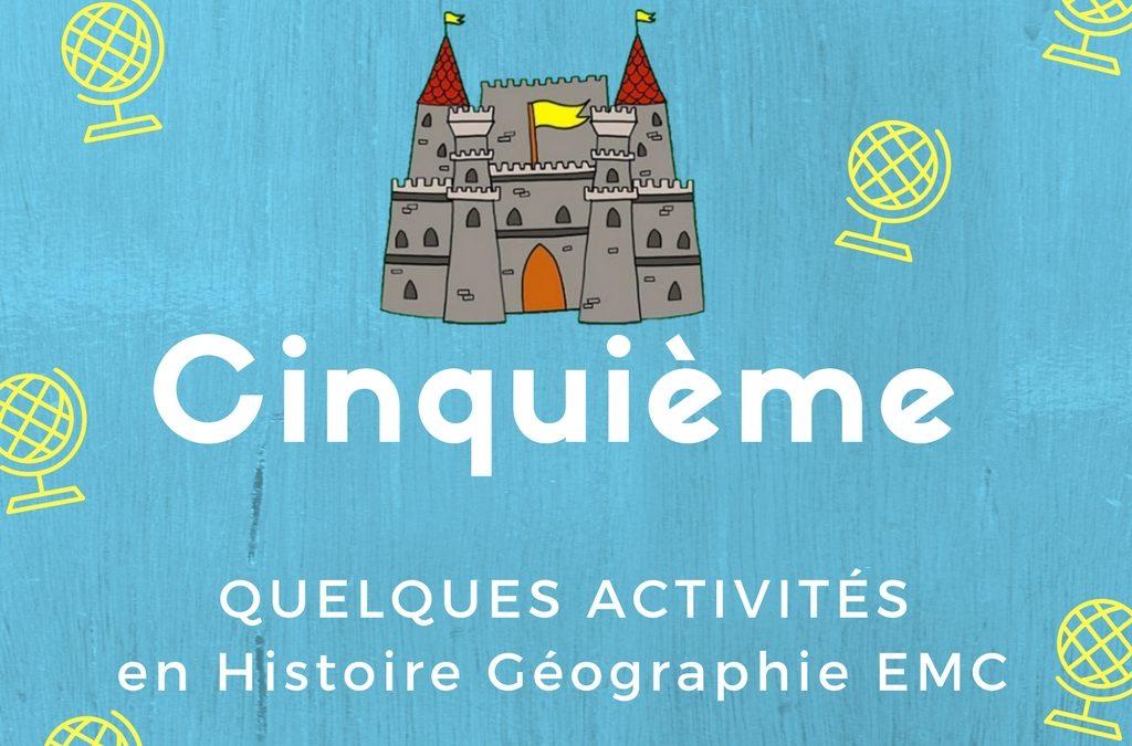 L'Histoire Géographie EMC en Cinquième