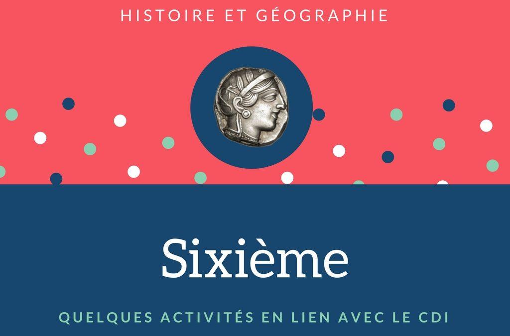 L'Histoire Géographie EMC en Sixième