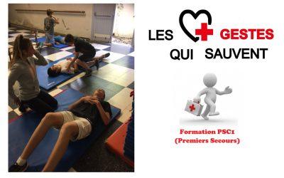 La formation aux premiers secours