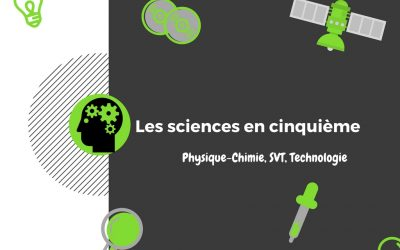 Les sciences en 5ème