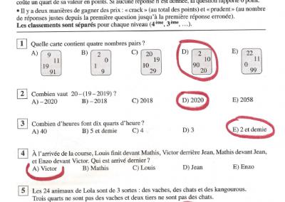 correction C1