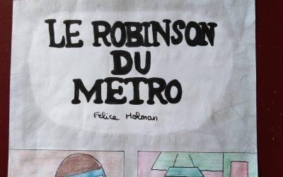 Le Robinson du métro … lu par les 5B et les 5C