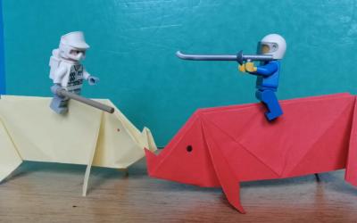 Mon origami vit sa vie… de déconfiné !