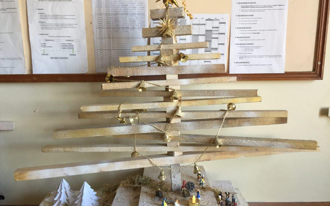La classe de 5ème C vous souhaite un joyeux Noël et vous suggère quelques décorations