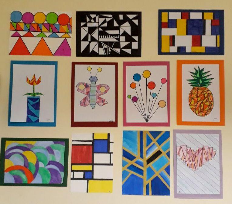 L'art pour rendre la Géométrie plus aimable en 5ème !