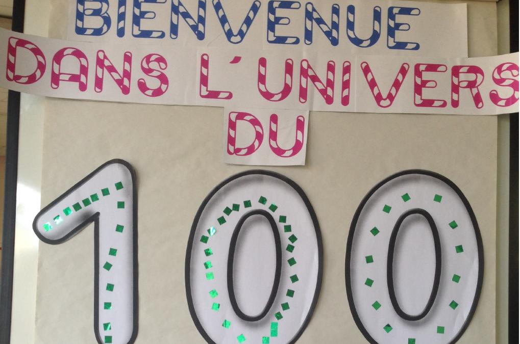 Les 100 jours d'école des CP