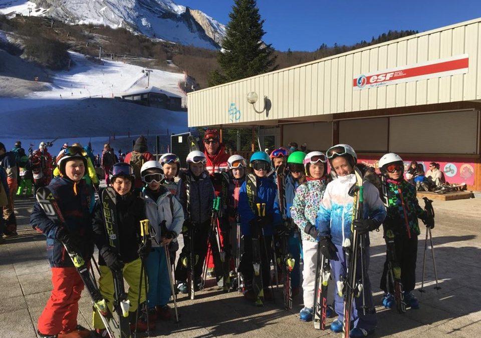 Souvenir du ski 2020 des CM2 et 6èmes